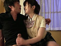 Kaho is getting some pussy licking