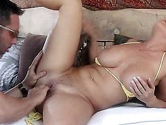 Big dick for lovely Devon Lee