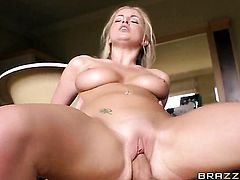 Danny D stuffs his man meat in horny as hell Georgie Lyalls mouth