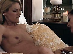 Samantha Ryan and Berlin are two lovely lesbians that love pussy eating