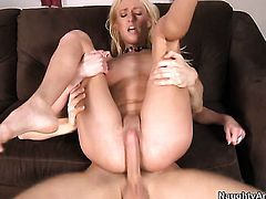 Danny Wylde has a good time banging Stacked breathtaker Victoria White