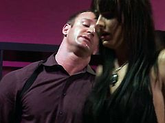 Bailey Brooks does her best to make dude unload