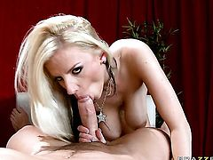 Haley Cummings with giant breasts getting her dripping wet vagina slam fucked by Johnny Castle