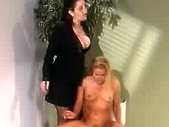 Pussy chief Spanks Her Secretary
