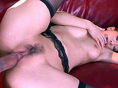 Asian babe loves having her pussy penetrated deep