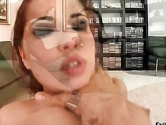 Suzie Diamond enjoys the warmth of hard tool deep in her asshole