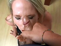 pov facial 80 beautiful milf