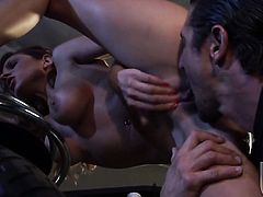 Kirsten Price takes dream cumshot