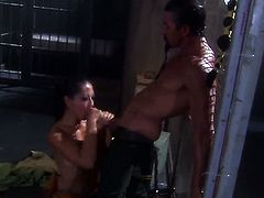 Gianna Lynn makes her dirty dreams a reality with dudes man meat deep down her throat