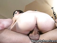Jennifer White screams from ednless orgasms after taking Billy Glides hard fuck stick in her wet spot