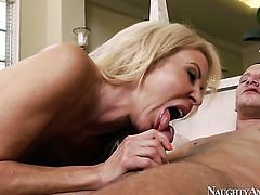 Erica Lauren is just desperate for sex in this steamy fuck session with Mr. Pete