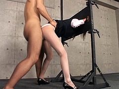 Office Lady Bound up Fuck ( No audio )