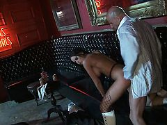 Brandy Aniston satisfies guys sexual needs and then gets her nice face cum plastered