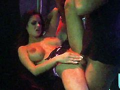 Angelina Valentine and Ryder Skye give blow job in the night