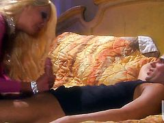 Donna Doll has blowjob experience of her lifetime with horny guy