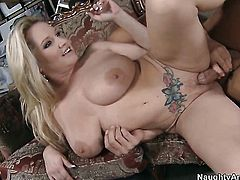 Rachel Love with huge boobs learns more about hard sex from hot bang buddy Rocco Reed