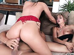 Tori Black feels great with Ramon Nomars throbber deep in back porch after she takes it deep down her throat