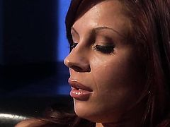 Kaylani Lei satisfies guys sexual needs and then gets her lovely face cum soaked