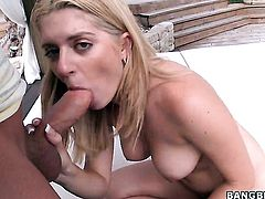 Kodi Gamble with phat butt opens her love box to take snake