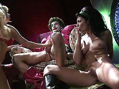 Andy San Dimas tries her hardest to make horny fuck buddy bust a nut with her mouth