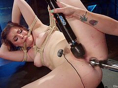 When her mistress calls her to her pleasure room, she has to answer the call. Bound and gagged she's subjected to wave after wave of intense pleasure from her mistress' toy collection, until she can take no more!