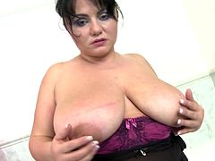 Amazing mature mother with big natural tits