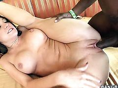 Interracial oral sex with big ass girl Amy Brooke