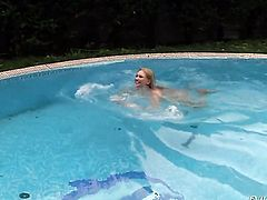 Lucy Heart takes it in her wet hole after David Perrys dick becomes stiff and hard