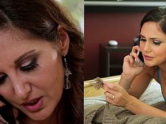 Ariana Marie and Stepmom Ava Addams at Mommy's Girl
