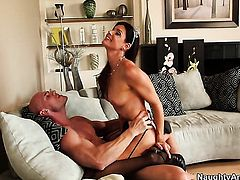 India Summer is in the mood for fucking and gives it to hard cocked bang buddy Johnny Sins
