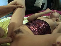 Lexi Belle is totally ready for yet another missionary penetration