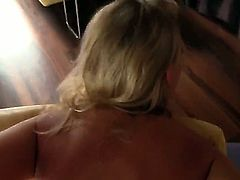 Lucy Heart is a big fan of anal. So she does not mind when her huge ass is stretched to its limits in this clip. She gets the camera lens shoved straight next to it.