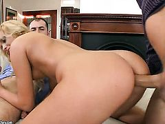 Blonde Ivana Sugar gets a ass fucking