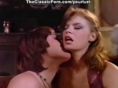 Sexy and naughty lesbians make love to each other in 69 position