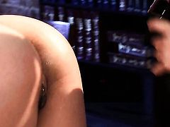 Charming tart Asa Akira is on fire in solo scene