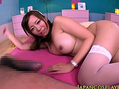 Japanese nurse doggystyle pussyfucked