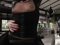 Erica Fontes is a blowjob addict who loves Rocco Siffredis rock hard rod
