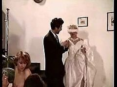 And The Bride Wore Cum