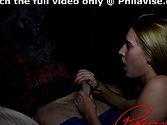 Cadence lux gives the best blowjob to the one and only Clyde the werewolf