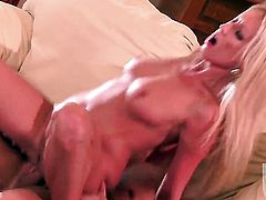 Diana Doll gets her mouth fucked literally to death by hot man