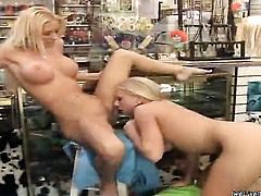 Blonde Molly Cavalli with round booty and smooth beaver is horny as hell and fucks her hole with her fingers for your viewing entertainment