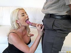 She is so horny and her husband is not good enough for her. Australian hottie Gigi, fucks the repairman in the next room, while her husband is watching football. She gets her sweet pussy eaten out and wildly sucks on her partner's cock.