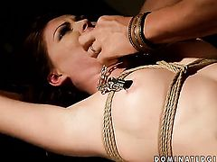 Brunette Safira White wants his rod to fuck her honeypot hard
