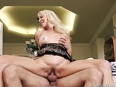 Mr. Pete loves always wet warm love hole of Asian Erica Lauren with tiny ass