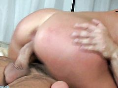Brunette Nataly Gold is so wet and so horny that fucks like a sex crazed animal