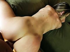 Kimmy Granger gives unbelievable oral pleasure to hard dicked guy Barrett Blade by sucking his tool