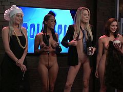 For those that have subscribed to Playboy's visual version of the Playboy Morning Show, they know there is one thing that will always happen. At some point, there will be gorgeous women getting naked. There is much entertainment to be had from this program, but nude women will always be a part of it.