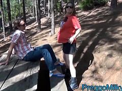 anal sex with pregnant milf outdoor