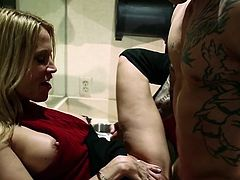 Visit official Wicked Pictures's HomepageAppealing blondie feels aroused with a big dick in her pink cherry, fucking her hard and pleasing her with moments of hardcore until the end