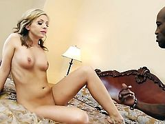 Madelyn Monroe spends her sexual energy with Wesley Pipess stiff sausage in her mouth